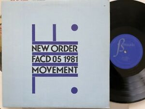 New Order - Movement (Factory FACD 05) 1981 Canadian pressing