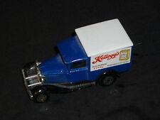 "A matchbox superfast Ford model A, Deliver van Kellogg's corn flake "" Playworn """