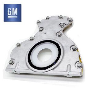 Genuine GM Rear Main Oil Seal & Plate Housing for LS1 Holden Calais VY VZ VE VF