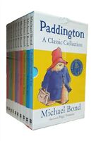 Paddington Bear 10 Book Box Set Michael Bond Classic Funny Kids Children New