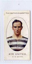 More details for (gw096-447) smith, football club records, #5 j.j.quinn, ayr united 1922 vg+