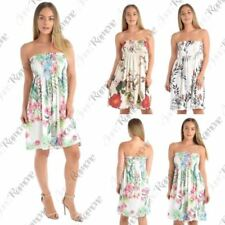 Sleeveless Wrap Dresses for Women with Strapless/Bandeau