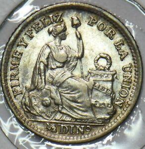 Peru 1916 1/2 Dinero 296831 combine shipping