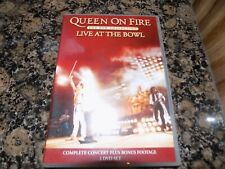DVD QUEEN ON FIRE LIVE AT THE BOWL (DISC 1 ONLY)