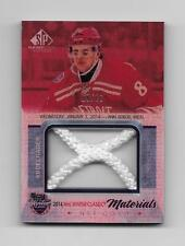 2015-16 UD SP GAME USED JUSTIN ABDELKADER #/10 NHL WINTER CLASSICS MATERIALS