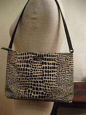 KATE SPADE New York exotic canvas small tote