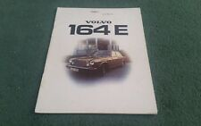 1974 VOLVO 164 E 164E SALOON UK BROCHURE