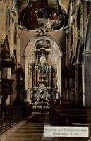 Bad Säckingen Baden-Württemberg AK ~1910/20 Fridolinskirche Kirche Schwarzwald