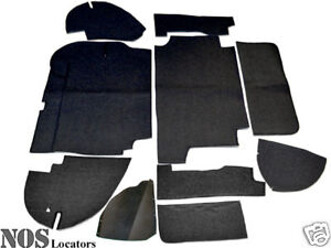 Austin-Healey 100-6, 3000 Armacord Trunk Liner Kit - CONCOURS GRADE