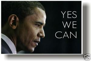 President Barack Obama - YES WE CAN - Print NEW POSTER