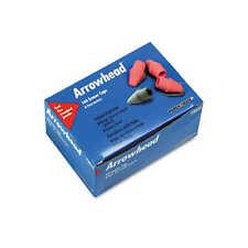 Paper Mate Erasers - Arrowhead Pencil Cap Pink Rubber Eraser Caps - 144 ct Box