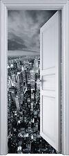Adesivo porta clacson l'occhio decocrazione New York 90x200 cm ref 2109