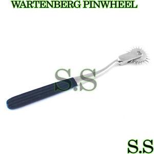 5 Neurological WARTENBERG PINWHEEL/Pin Wheel Black Color