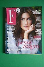 Magazine F Italia ANNA VALLE JAKE GYLLENHAAL HEIDI KLUM EMILY RATAJKOWSKI