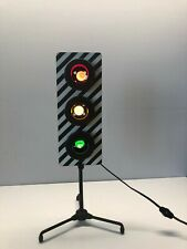 VINTAG PENCO RAILROAD TRAFFIC LIGHT G SCALE OPERATED  110V AC WITH EXTRA LIGHT