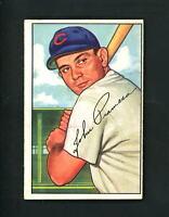 1952 Bowman HIGH # 247 John Pramesa EX+++ cond print lines Chicago Cubs