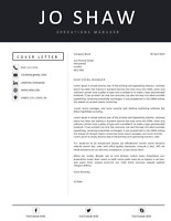 DOWNLOAD NOW - Modern, Professional Cover Letter Template in Microsoft Word