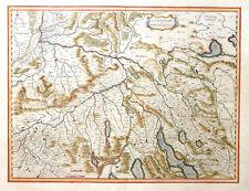 Svizzera Switzerland zurichgow et baliliensis provincia Basilea Zurigo Blaeu 1640