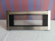Used Hotpoint EW74X Stainless Steel Grill/Top Oven Door Outer Glass & Hinges.