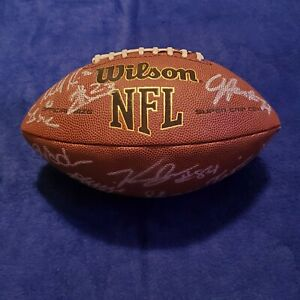 49ers team signed football 12 autographs Juszczyk, Bourne, +others coa