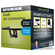 Anhängerkupplung abnehmbar AUDI A4 Limousine +Elektrosatz NEU kpl.  inkl. EBA