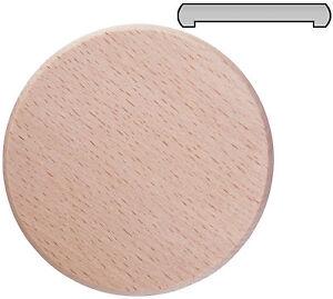 Bierglasdeckel Wespenschutz Bierdeckel Trinkglasdeckel - Buchenholz D 8,4 cm
