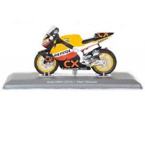 Suter MMX Marc Marquez 2012 Repsol 1:18 Ixo Salvat Diecast Moto GP