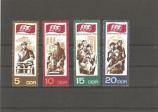 Briefmarken---DDR---1967-----Postfrisch----Mi 1268 - 1271----