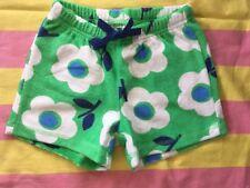 BNIB NEW Mini Boden Adventure Towelling Shorts - Green Floral - Age 5