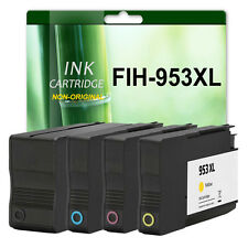 Full Set Remanufactured Ink Cartridges For HP 953XL Officejet Pro 8710 8715 8716