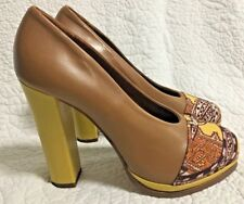 BEAU COOPS for KAREN WALKER 'Sea Monsters' Heels - Sz EUR 38