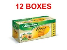 12x Dogadan Turkish Form Apricot Tea bags (12 box x 20 bags = 240 bags)