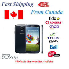 Samsung Galaxy S4 IV SGH-i337 16GB Unlocked Rogers Bell Telus and Fido