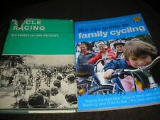LOT 2 BOOKS-FAMILY CYCLING 2008 & CYCLE RACING 1965