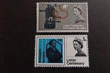 GB MNH STAMP SET 1965 Joseph Lister (phosphor) SG 667p-668p UMM