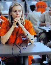 Taylor Shilling Signed Autographed 11X14 Photo Prison Orange Suit PSA/DNA U99585