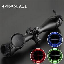 Red/Blue/Green 4-16X50AOL Scopes Telescopic Sight Reflex Sight For Gun Rifle