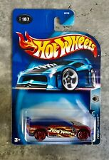 Hot Wheels 2003 Track Aces Pontiac Rageous Collector No. 167  MOC