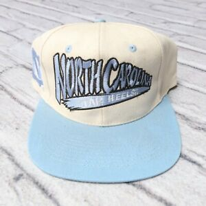Vintage New North Carolina Tar Heels Snapback Hat Cap 90s