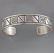 Sterling Silver Handcrafted Modern Cuff Bracelet