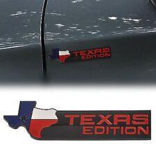 BLACK XL Texas Edition Emblem Badge Ford 150 250 350 Tailgate Universal StickOn