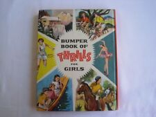 Vintage Dean's Bumper Book of Thrills For Girls Hardback Annual