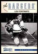 2012-13 Panini Classics Signatures Lou Fontinato #185