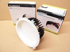 Aurora 30w Ceiling / Down Light. Commercial Grade. Warm White. Matte White.