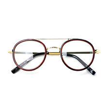 1920s Vintage classic oliver retro eyeglasses 81R73 brown frames kpop peoples