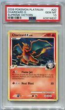 Pokemon Card Charizard G LV. 65 Supreme Victors Set 20/147, PSA 10 Gem Mint