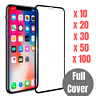 100x Wholesale Tempered Glass Screen Protector Lot For iPhone X XR XS 11 Pro MAX