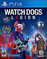 Watch Dogs Watchdogs Legion Sony Playstation 4 PS4 Brand New Sealed