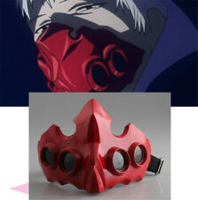 Japanese Tokyo Ghoul Tatara Red Mask Anime Cosplay Party Props Adjustable Size