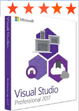 Microsoft Visual Studio Professional 2017 LifeTime License | Windows Version